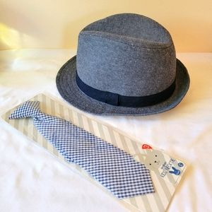 Boys Hat and Tie